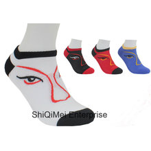 Customized Cheap Men Women Polyester Ankle Socks